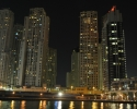 Dubai Marina by night 2