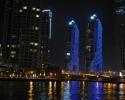Dubai Marina by night 3
